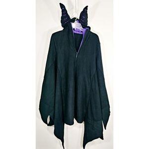 Maleficent hoodie cape costume